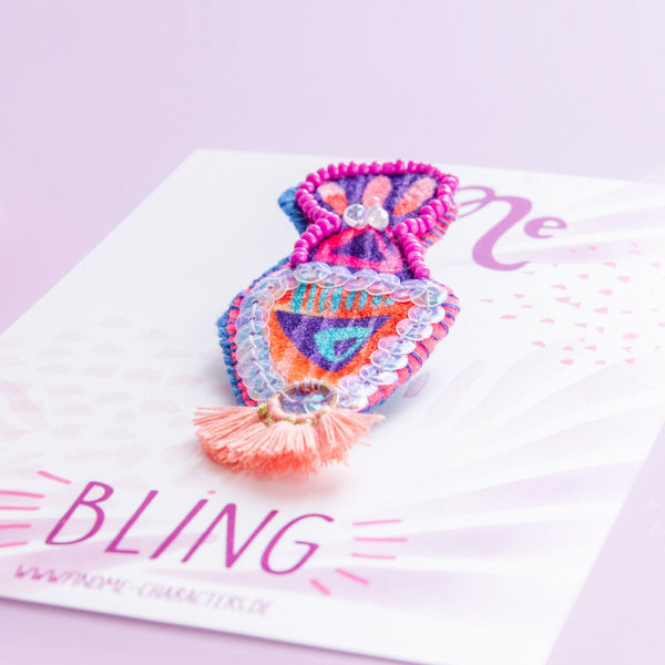 """Bling"" - Brosche: Crazy 01"